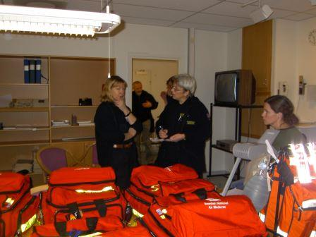 Förberedelser i Umeå för eventuell insats med SNAM-light